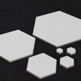 base hexagonal plain platform free stl mesh dnd 3dprint mini miniature