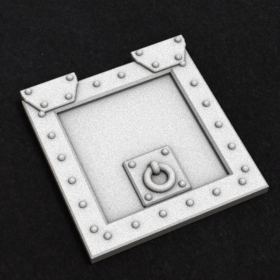 door hatch stl mesh dnd 3dprint mini miniature