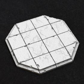 platform steps marble raised stl mesh dnd 3dprint mini miniature