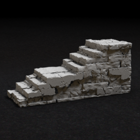 stone dungeon dnd stairs catacomb catacombs cellar step steps stair stl mesh dnd 3dprint mini miniature